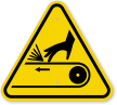 ISO Entanglement Symbol Warning Sign