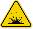 ISO Sparks Symbol Warning Sign