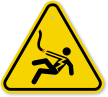 ISO Voltage Body Shock Symbol Warning Sign