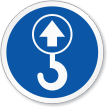 Lift Point ISO Circle Sign