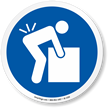 ISO Mandatory Action Sign