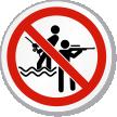 No Fishing Hunting ISO Sign