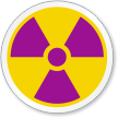 Radiation Symbol ISO Sign