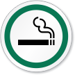 Smoking Symbol ISO Circle Sign