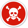 Toxic Or Poison Symbol ISO Sign
