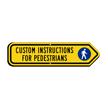 Custom Right Arrow Sign