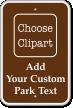 Customize Park Sign