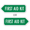First Aid Kit Sign