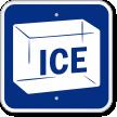 Ice Cube Sign