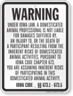 Iowa Equine Liability Sign