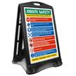 Jobsite Safety Construction Safety Sidewalk Sign