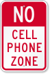 Mobile Phone Prohibited Sign