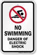 Electrical Hazard Sign