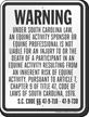 South Carolina Equine Sign