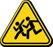 Watch for Children Pedestrian Sign
