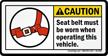ANSI Caution Label