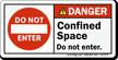 ANSI Danger Safety Label