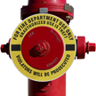 Fire Department Use Only Fire Hydrant Ring