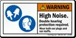 ANSI Warning Safety Label