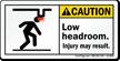 ANSI Caution Safety Label