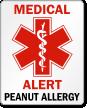 Peanut Allergy Label
