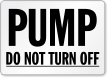 Pump Label