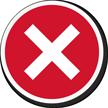 Red Cross Marking Label
