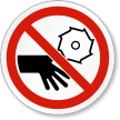 ISO Prohibition Safety Label