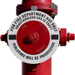 Fire Hydrant Marker