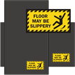 Floor Maybe Slippery Classic & Fashion Sign Mat