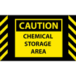 Chemical Storage Safety Message Mat