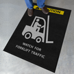 Forklift Traffic Safety Message Mat