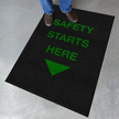 Safety Starts Here Safety Message Mat