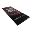 StepWell™ Sanitizing Mat Wipe And Dry Zone red