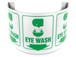 180 Degree Projecting Eye Wash Sign