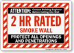 Smoke Wall Label
