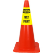 Caution Wet Paint Cone Collar