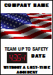 Custom Job Safety Scoreboard