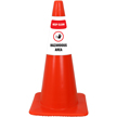 Keep Clear Hazardous Area Cone Collar