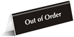 Out Of Order OfficePal™ Tabletop Tent Sign