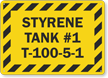 Add Your Custom Tank Content Tank Number And Text Sign