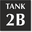 Add Your Customized Tank Number Sign