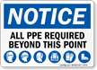 All PP&E Required Notice Sign