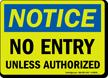 Glow OSHA Notice Sign