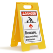 ANSI Danger Floor Standing Sign