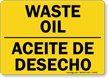 Bilingual Chemical Storage Sign