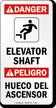 Bilingual Danger / Peligro Sign