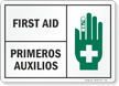 First Aid Bilingual Sign