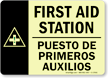 First Aid Station (with graphic) (Bilingual)