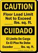 Bilingual OSHA Caution / Cuidado Sign